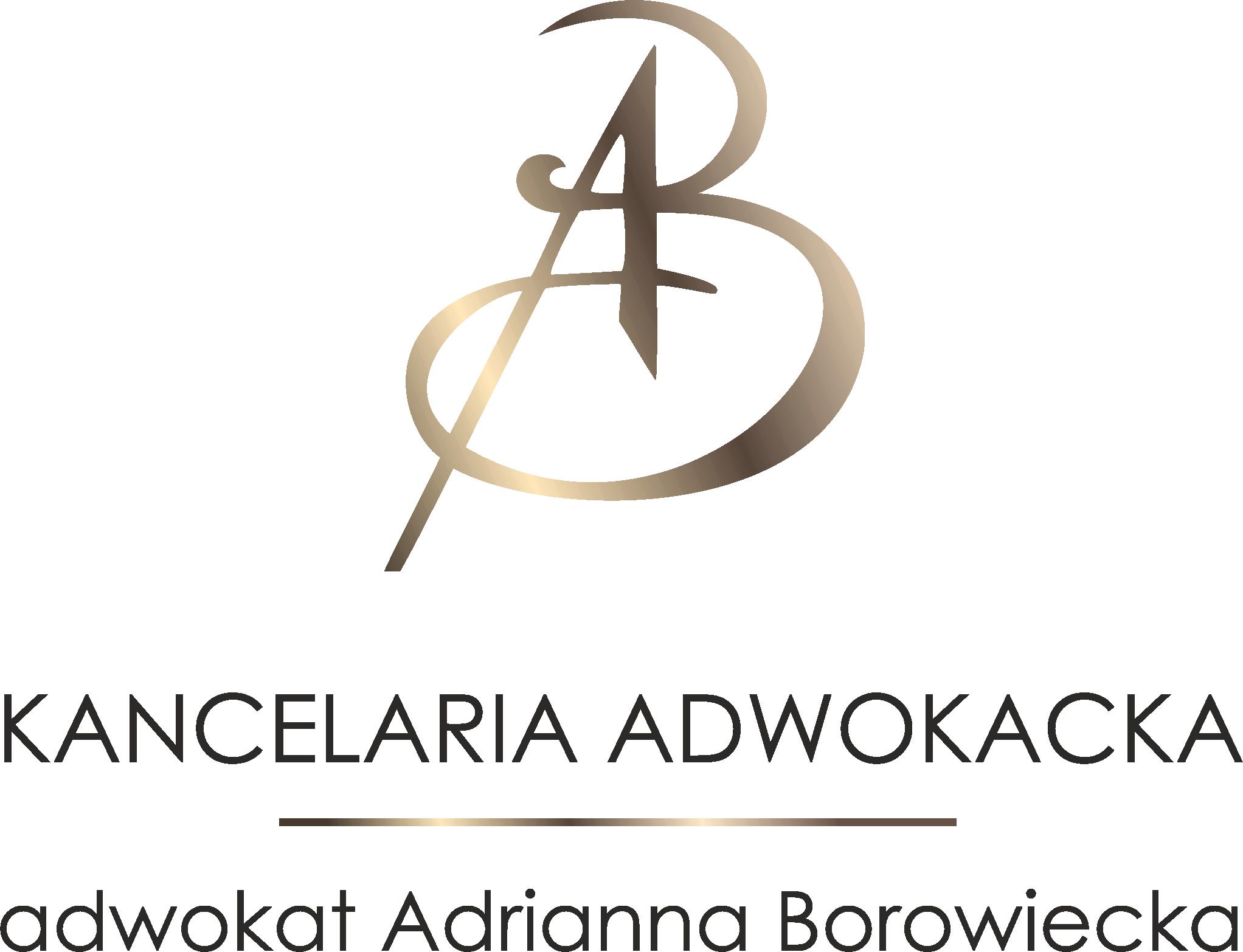 Adwokat Borowiecka logo